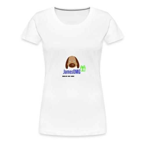 James Merch - Women's Premium T-Shirt