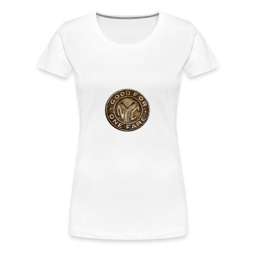 NYC Token - Women's Premium T-Shirt