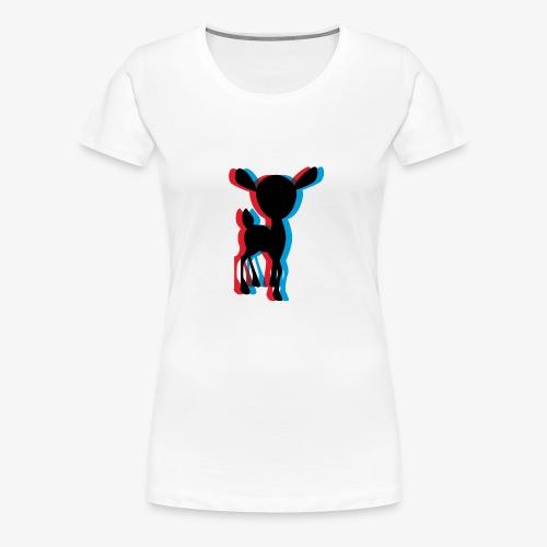 3dciervo - Women's Premium T-Shirt