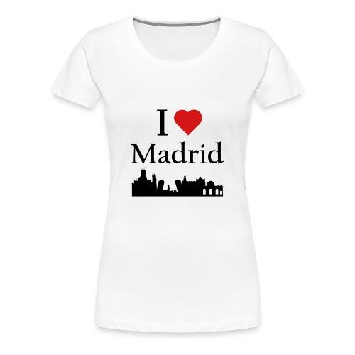I Love Madrid - Women's Premium T-Shirt