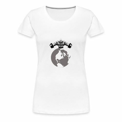 Muscle World - Women's Premium T-Shirt