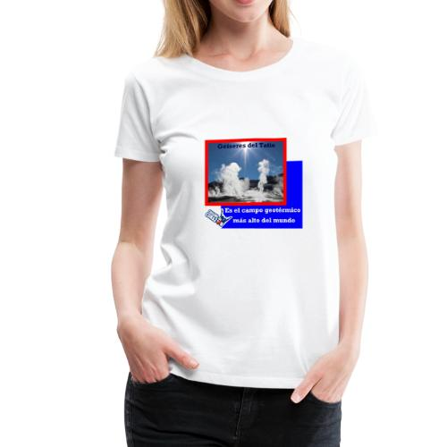 CHILENO DE CORAZÓN - Women's Premium T-Shirt