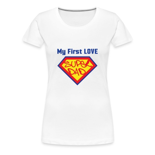 SUPER DAD - Women's Premium T-Shirt