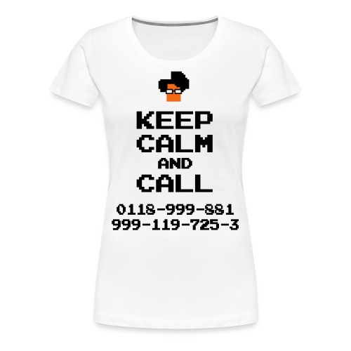 IT Crowd Moss emergency KEEP CALM - Women's Premium T-Shirt