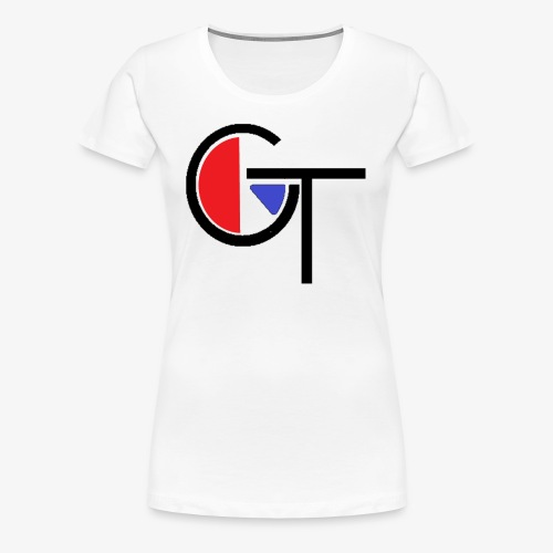 logo with colour - Women's Premium T-Shirt