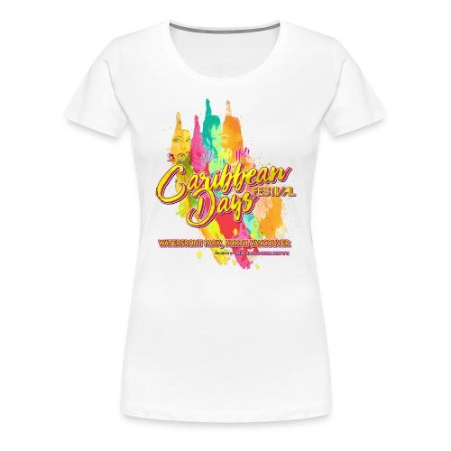 Caribbean Days Festival = Hot! Hot! Hot! - Women's Premium T-Shirt