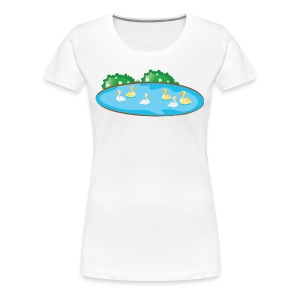 Duck - Women's Premium T-Shirt
