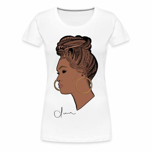 Poly Queen - Women's Premium T-Shirt