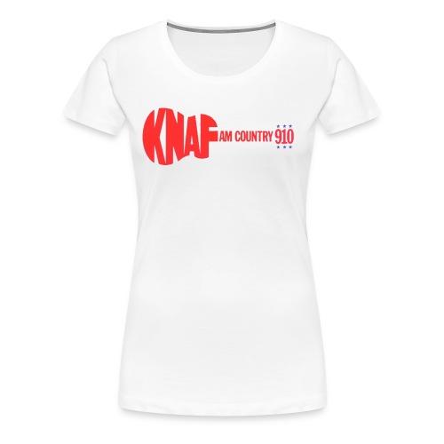 KNAF Logo T-shirt - Women's Premium T-Shirt