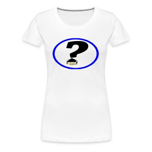 Mr Hat corner Logo - Women's Premium T-Shirt