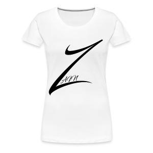 The Zain Logo - Women's Premium T-Shirt