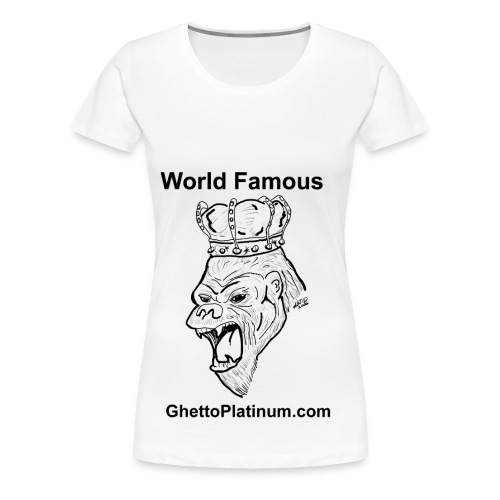 T-shirt-worldfamousForilla2tight - Women's Premium T-Shirt