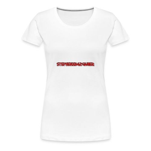stephenxb42gamer logo - Women's Premium T-Shirt