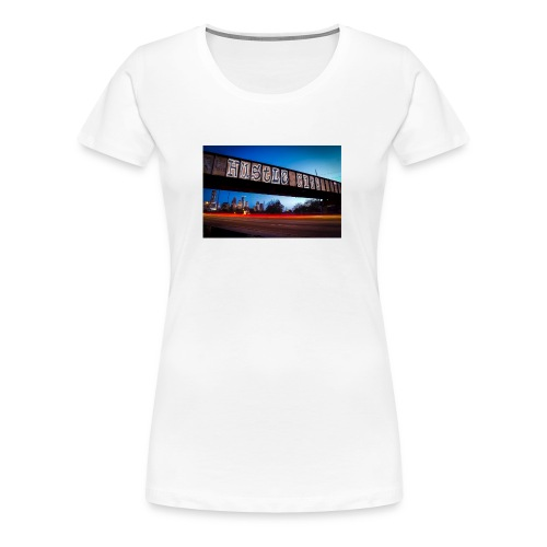 Husttle City Bridge - Women's Premium T-Shirt