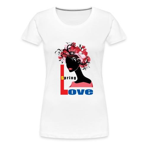 Spring Season Tshirt - Women's Premium T-Shirt