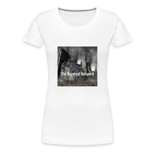 The Survival Network's official logo design. - Women's Premium T-Shirt