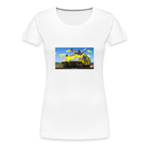 Tank Demolisher - Women's Premium T-Shirt