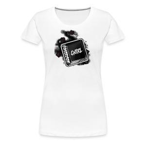 New CNTRL Logo - Women's Premium T-Shirt