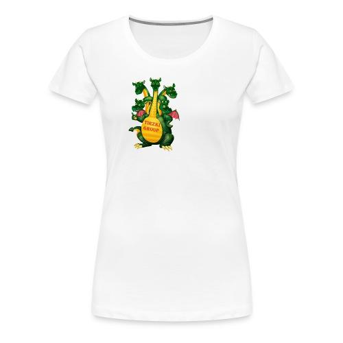 Tirzki Group - songs and video design studio - Women's Premium T-Shirt