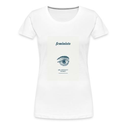 Feminist are not only women(2) - Women's Premium T-Shirt