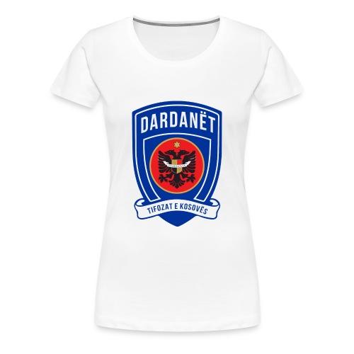 The Dardanët football crest - Women's Premium T-Shirt