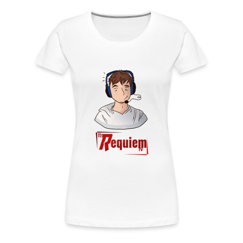 Requiem Hair Day Artwork By RaysTheCreator - Women's Premium T-Shirt