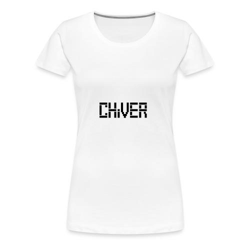 C(S)HiVER Black Logo - Women's Premium T-Shirt