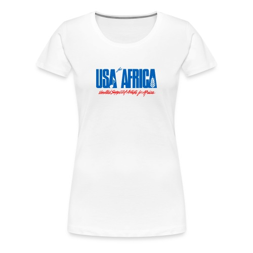 USA for africa merch - Women's Premium T-Shirt
