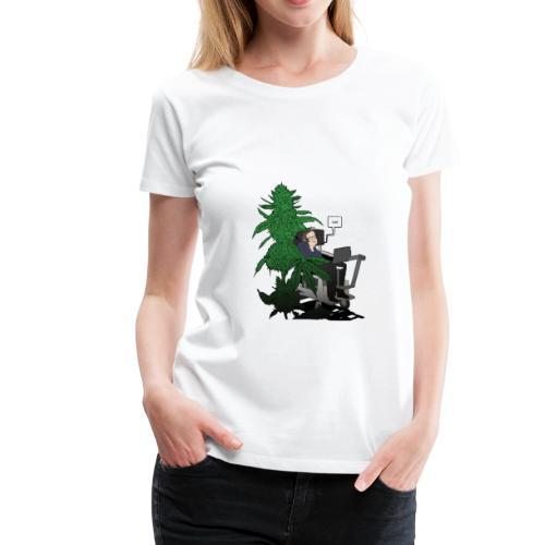 YUH - Smart? - Women's Premium T-Shirt