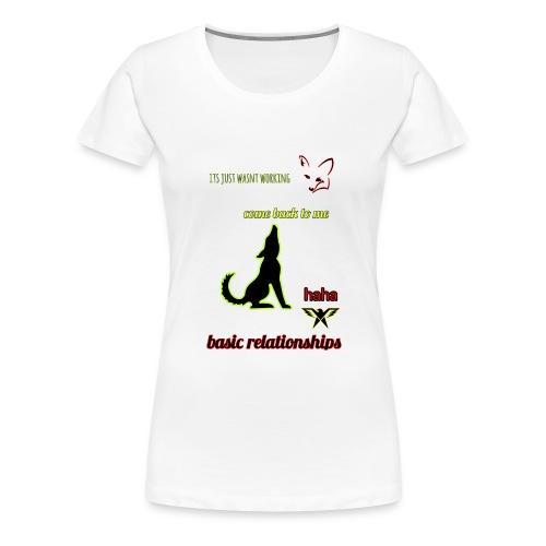 pet relationships - Women's Premium T-Shirt