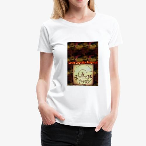 Love Loyalty Respect - Women's Premium T-Shirt