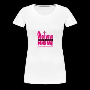 woww tee - Women's Premium T-Shirt