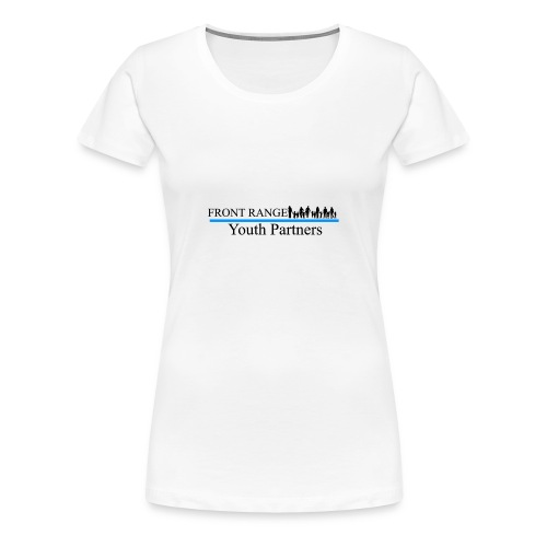 Front Range Youth Partners LOGO - Women's Premium T-Shirt