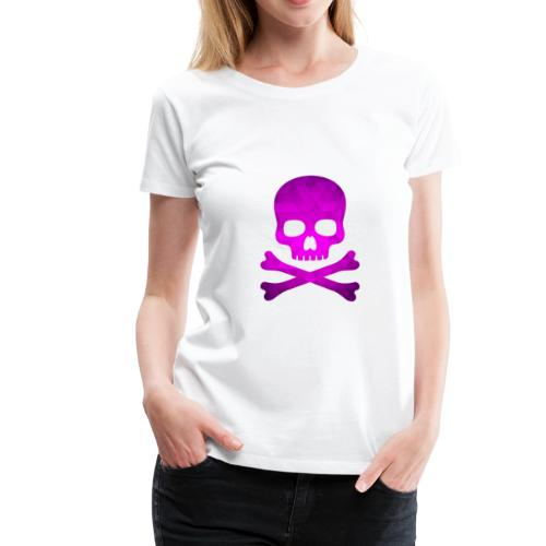 Glam Skull - Women's Premium T-Shirt