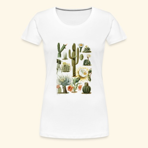 Cactus Vibes - Women's Premium T-Shirt