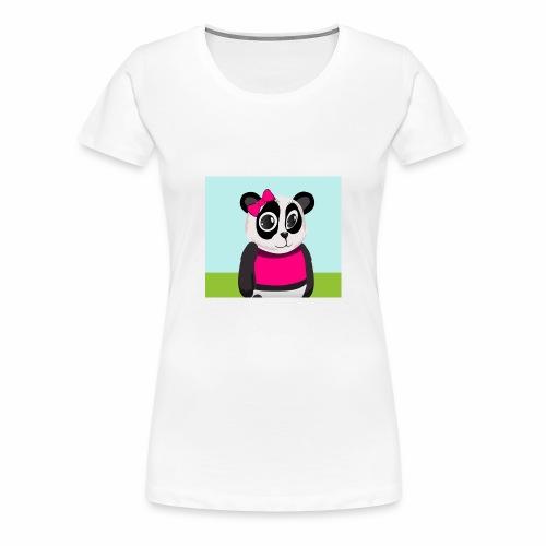 Panda Lilly - Women's Premium T-Shirt