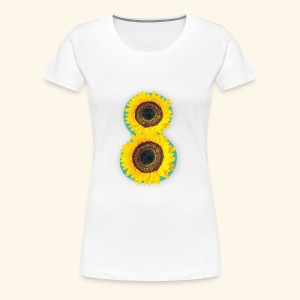 8 Exabytes Sunflower by GVD - Women's Premium T-Shirt