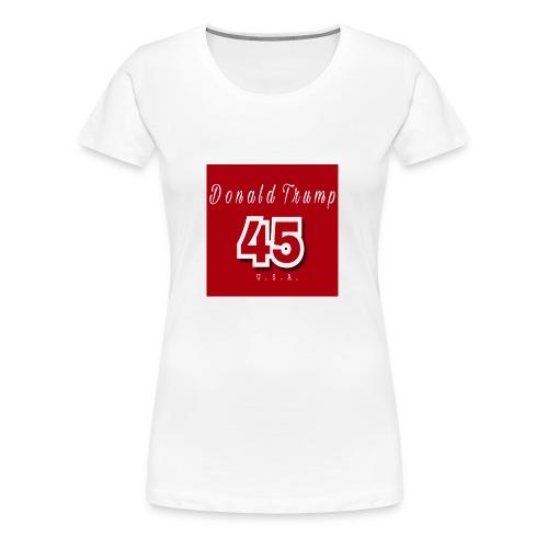 Donald Trump 45 - Women's Premium T-Shirt