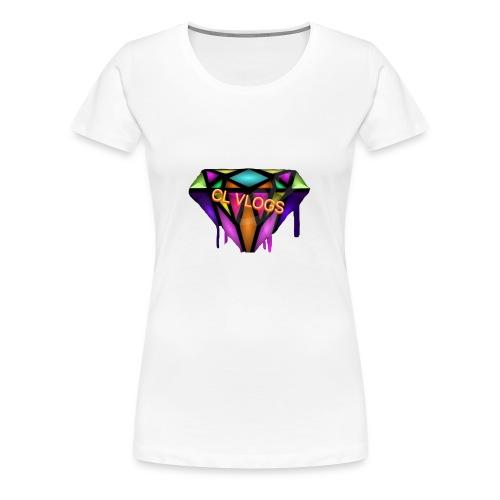 CL VLOGS - Women's Premium T-Shirt