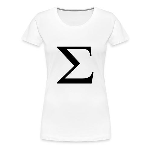Greek Letter - Women's Premium T-Shirt