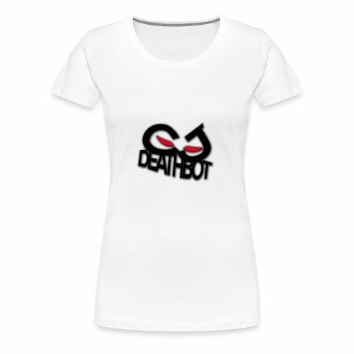 CJDEATHBOT logo - Women's Premium T-Shirt