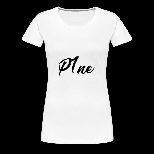 P1neMusic Black - Women's Premium T-Shirt