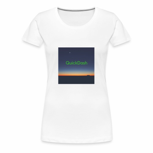 QuickDash Merch - Women's Premium T-Shirt