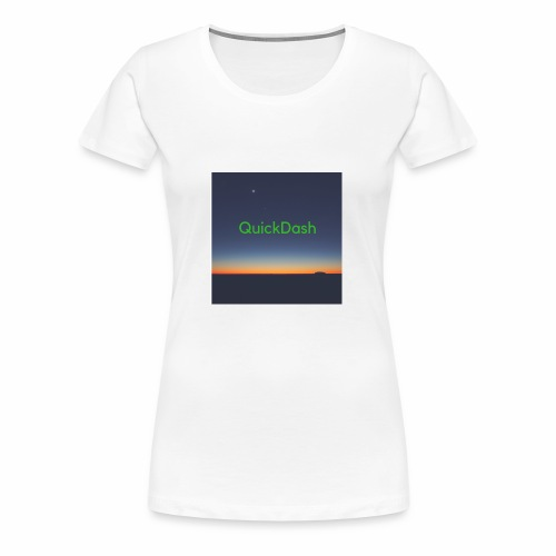 QuickDash Merch - Women's Premium T-Shirt