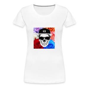 kzdSKullandrose - Women's Premium T-Shirt