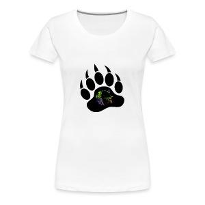 Splatter logo - Women's Premium T-Shirt