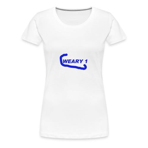 Weary 1 T-Shirt - Women's Premium T-Shirt