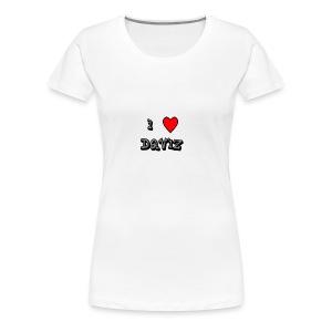 I Love Daviz - Women's Premium T-Shirt