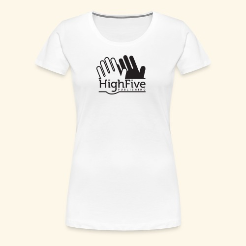 High Five Publishing Logo - black - Women's Premium T-Shirt