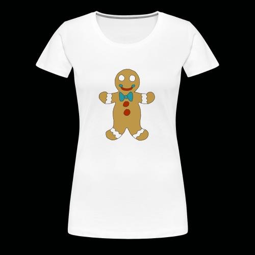 Gingerbread Man - Women's Premium T-Shirt